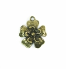 small flower brass finish wholesale