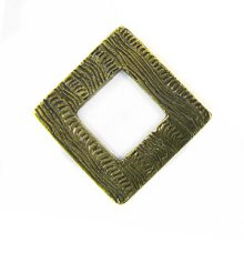 brass finish diamond 34mm corrugated wholesale