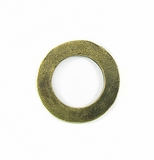 brass finish metal O ring 25mm plain wholesale