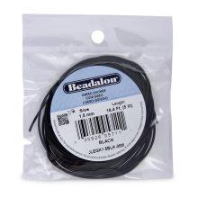 wholesale Greek Leather 1.5MM Black 5M