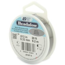 wholesale Beadalon 49 .33mm 30' sp