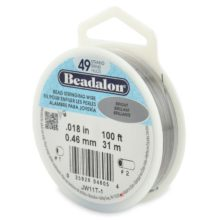 wholesale Beadalon 49 100' sp
