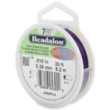 wholesale Beadalon 7 Purple 30'