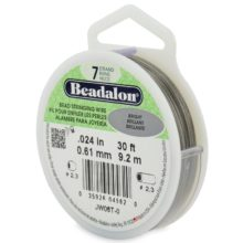 wholesale Beadalon 7 30' sp .61mm Bright