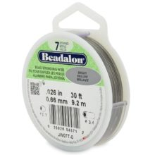 wholesale Beadalon 7 30' sp .66mm