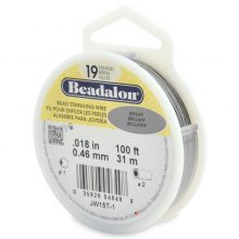 wholesale Beadalon 19 100' sp .46mm