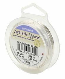 wholesale Artistic Wire 20 Ga. Non-tarnish Silver