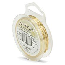wholesale Artistic Wire 24 Ga. Non Tarnish Brass