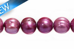 potato pearls dark pink 8-9mm wholesale beads