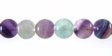 Fluorite 6mm round beads wholesale gemstones