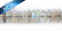 labradorite wheel 5mm wholesal gemstones