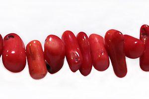 LS-bamboo coral chips 4-5mm diameter wholesale gemstones