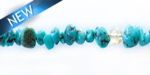 turquoise nugget 2-5mm wholesale gemstones