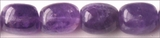 amethyst tumble nuggets ~12x16mm wholesale gemstones