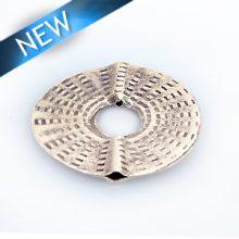 Thai silver flat round ring 26mm diameter