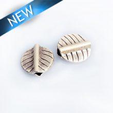 Thai silver leaf 11mm wholesale beads