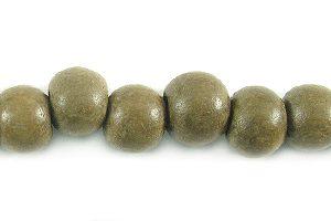 Graywood round wholesale bead