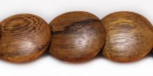 Robles wood round double side disc