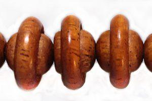 bayong wood round saturn design