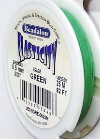 Wholesale 0.5mm Elasticity green