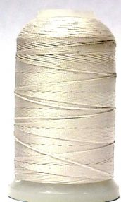 wholesale Silk Bead Cord D White