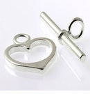 Large Heart Toggle Clasp wholesale