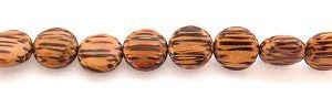 Wholesale Palm wood disc beads