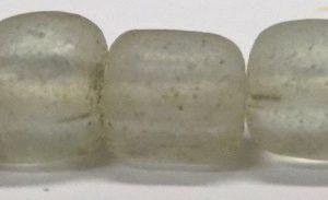 light gray heishi beads 4.5mm x 5-6mm