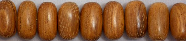 Bayong wood oval side drilled