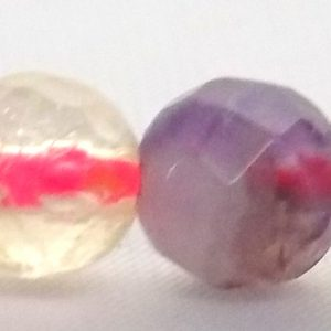 Penta Quartz Faceted Bead 6mm wholesale gemstones