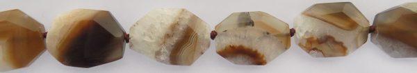 Brown Agate Slab Beads wholesale gemstones