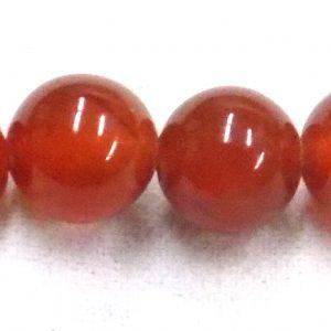 Red agate round 6mm wholesale gemstones