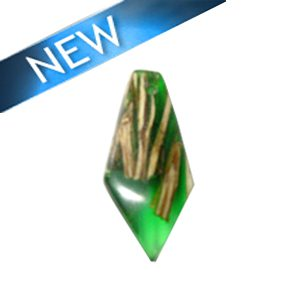 Laminated albutra roots faceted irregular