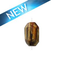 Laminated albutra roots faceted tube rose