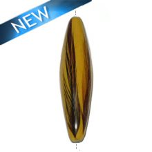 Football Mahogany wood laminated with rooster feather